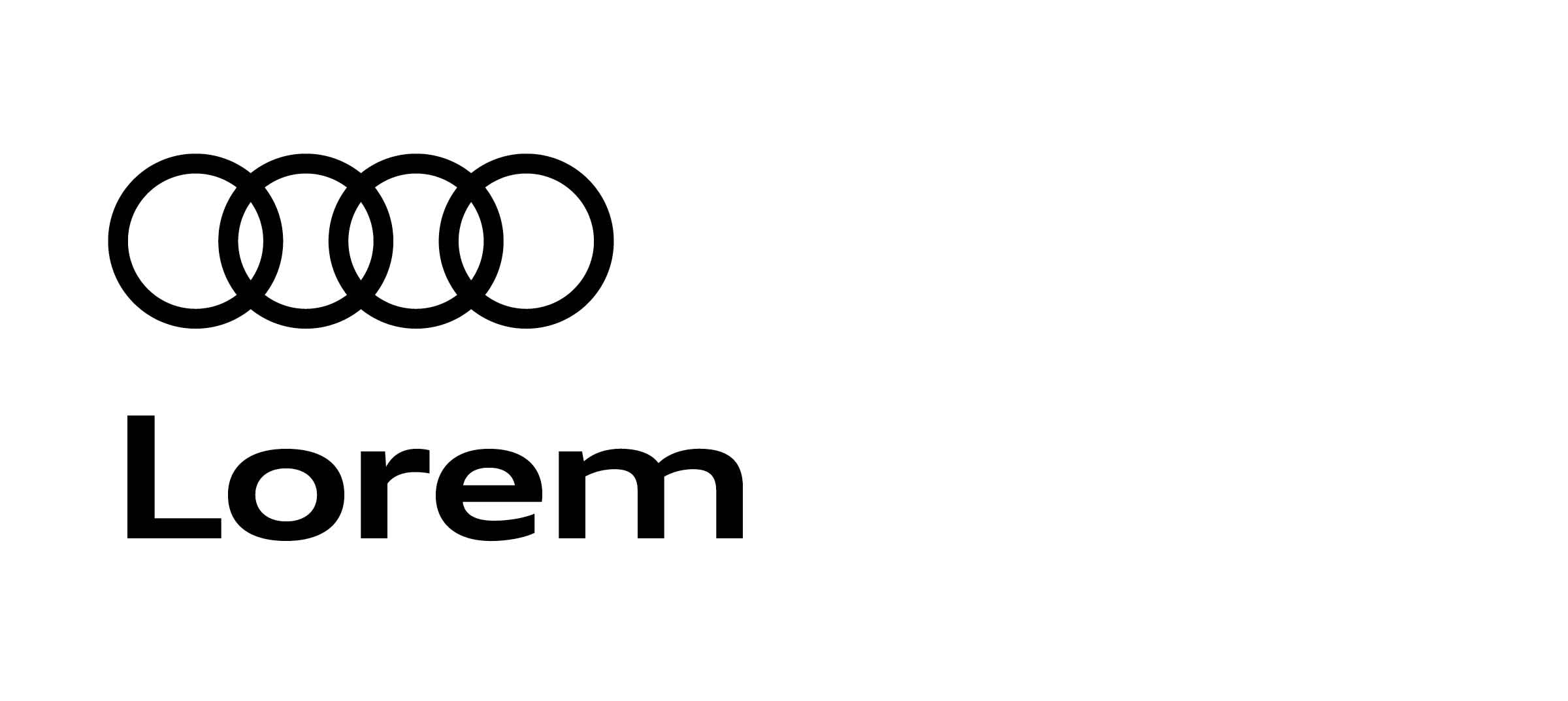 brandplattform are rings line basics derived audi en the equal from typography a case this other logo ci in and thickness ringe intro ratios convey effect of harmonious