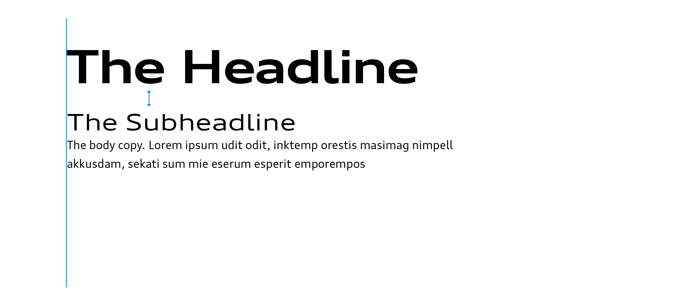 Basics / Typography