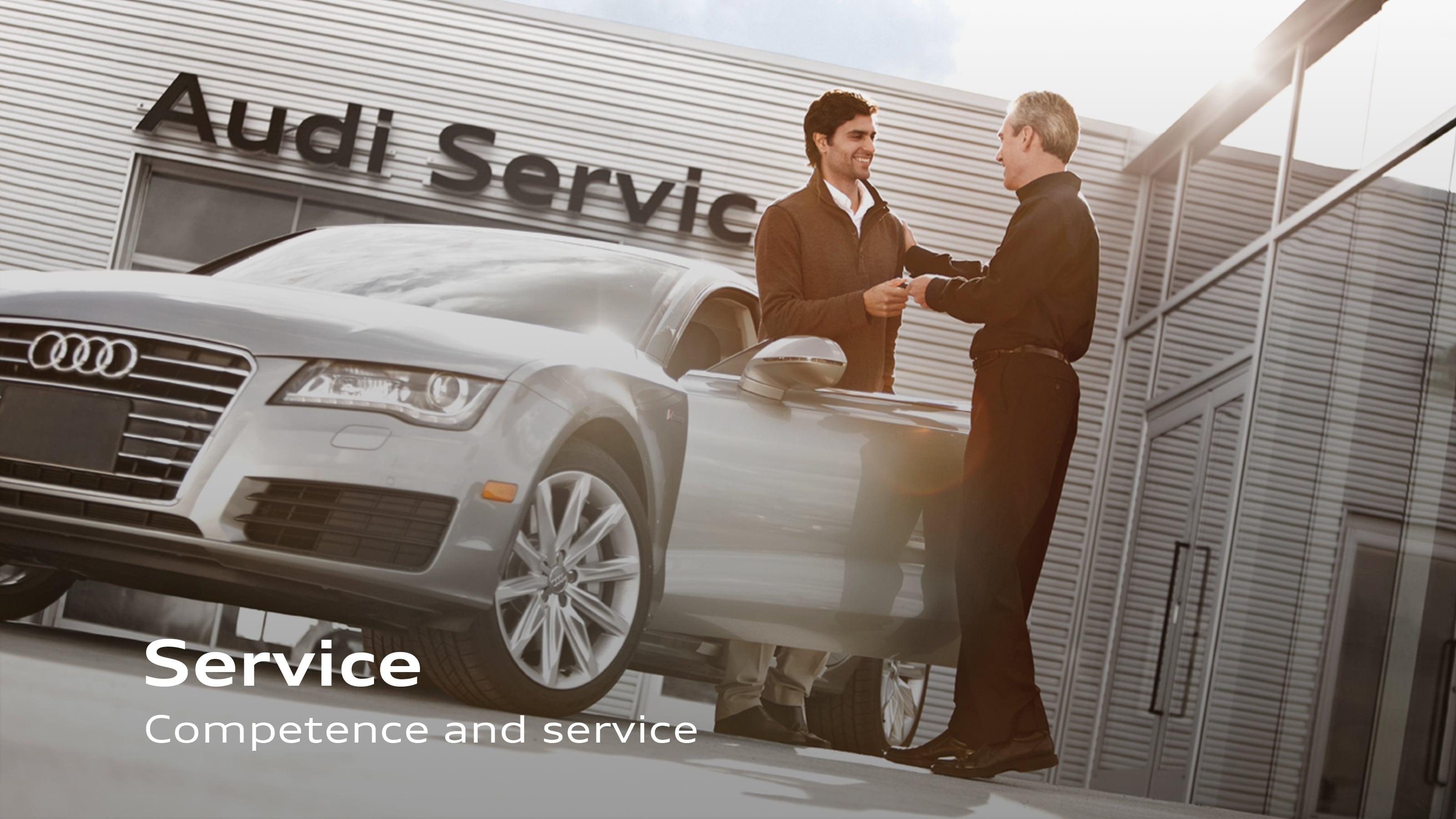Dealer Facility - Audi car dealership