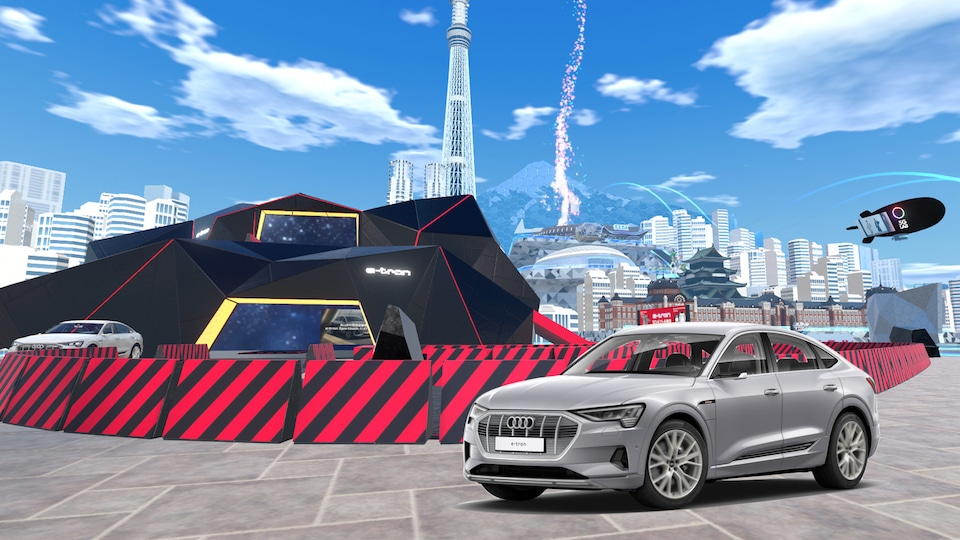 New car, new world: VR test drive in the Audi e-tron Sportback
