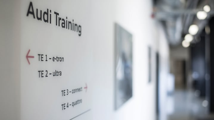 Top Qualifizierungen - Audi Training