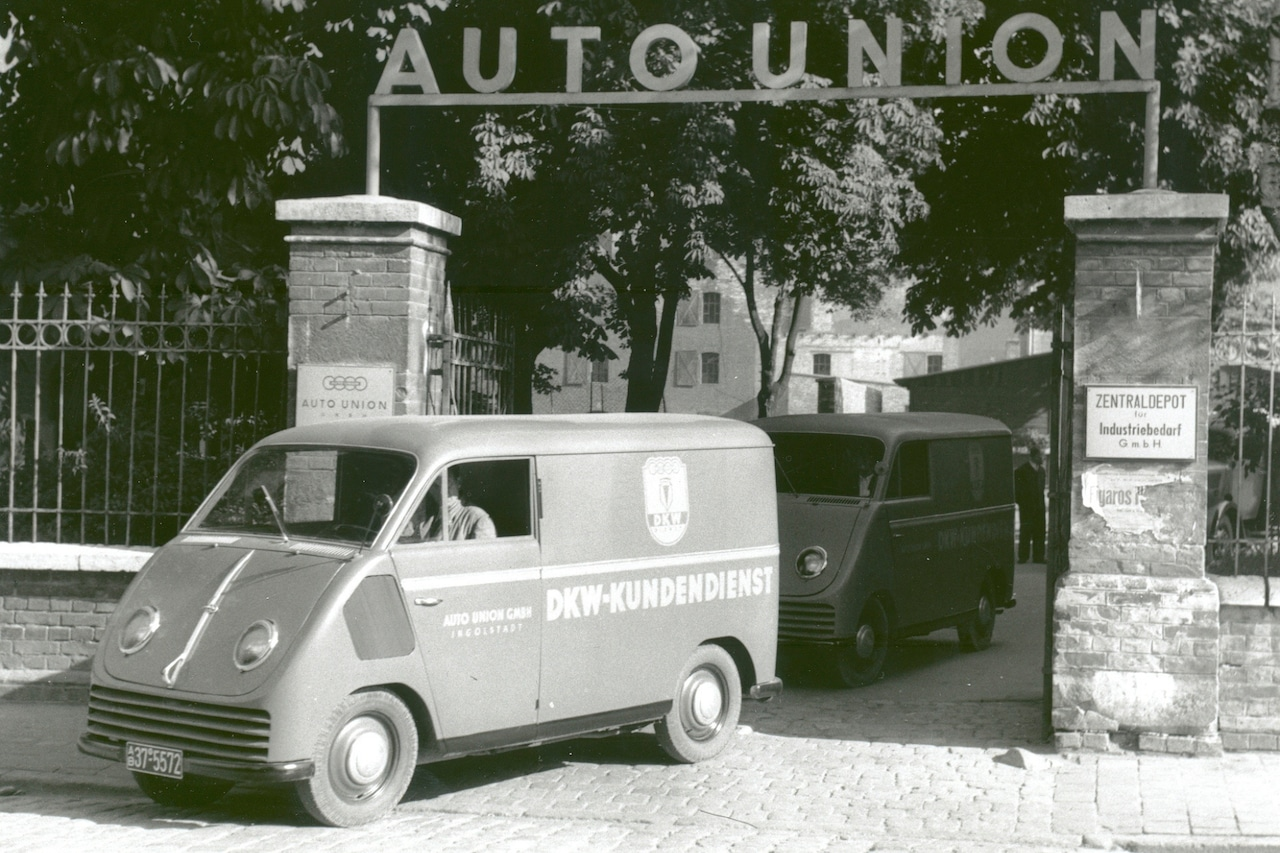 When it was founded, the Auto Union was the second largest car manufacturer in Germany.