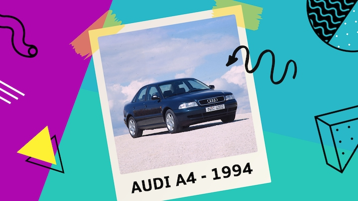 '90s Cult Car: 25 Years of the Audi A4