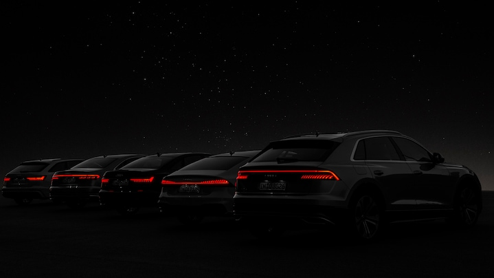Audi lighting – the evolution