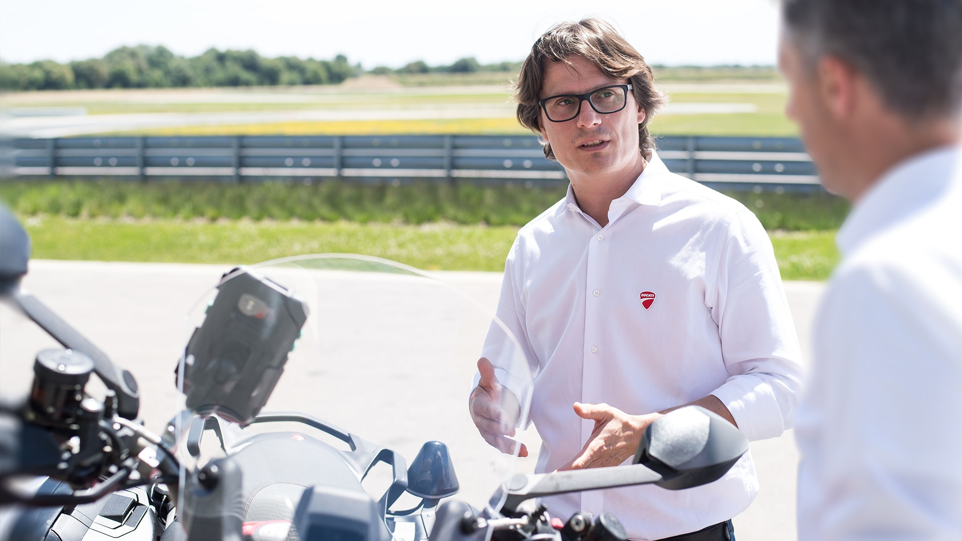 One-third of motorcycle accidents can be avoided with the help of C-V2X technologies, estimates Pierluigi Zampieri, Vehicle Innovation Manager at Ducati.