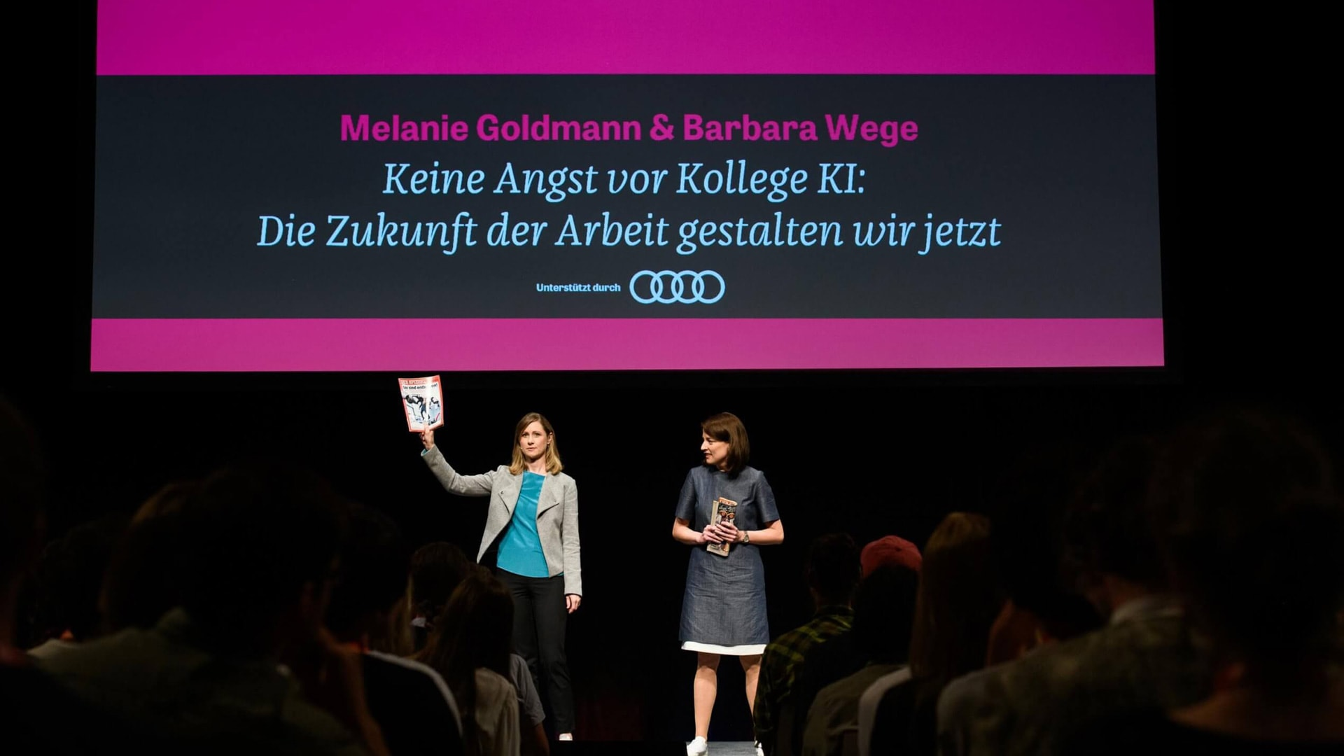 Z2X: speech of Melanie Goldmann, Barbara Wege