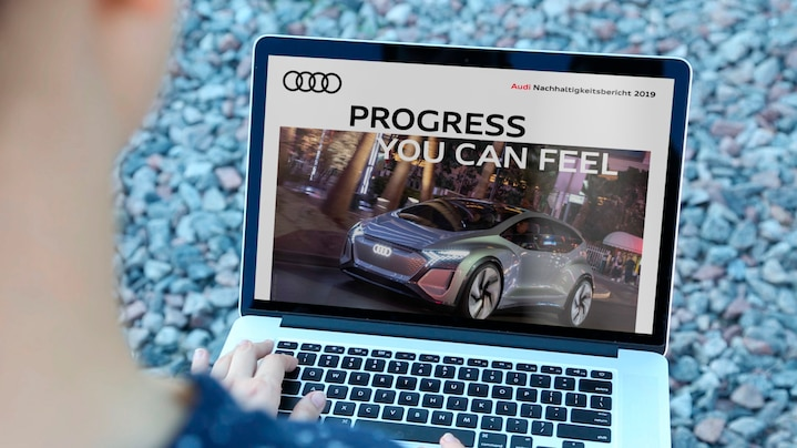 Audi Sustainability Report 2019 – Progress you can feel
