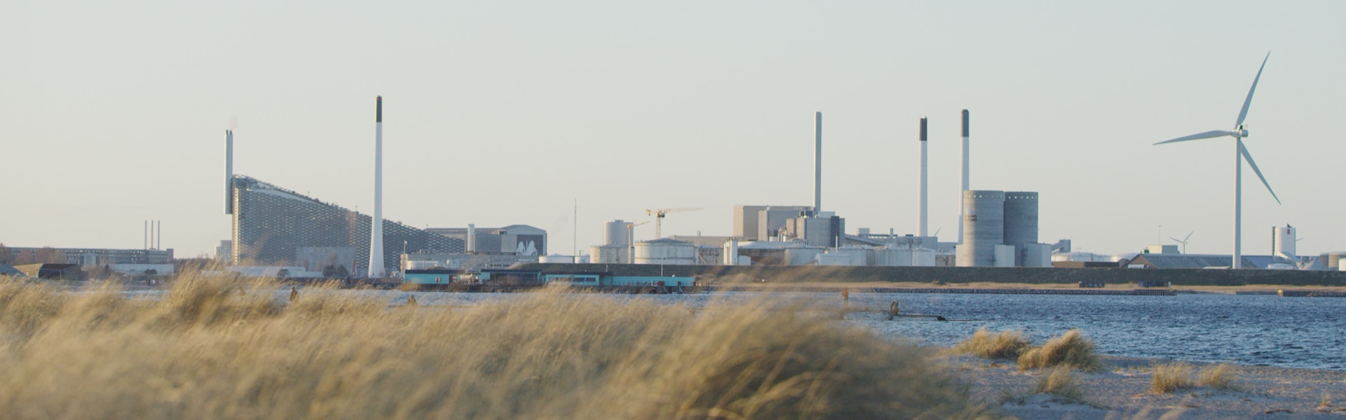 The Copenhagen waste-to-energy plant, Amager Bakke