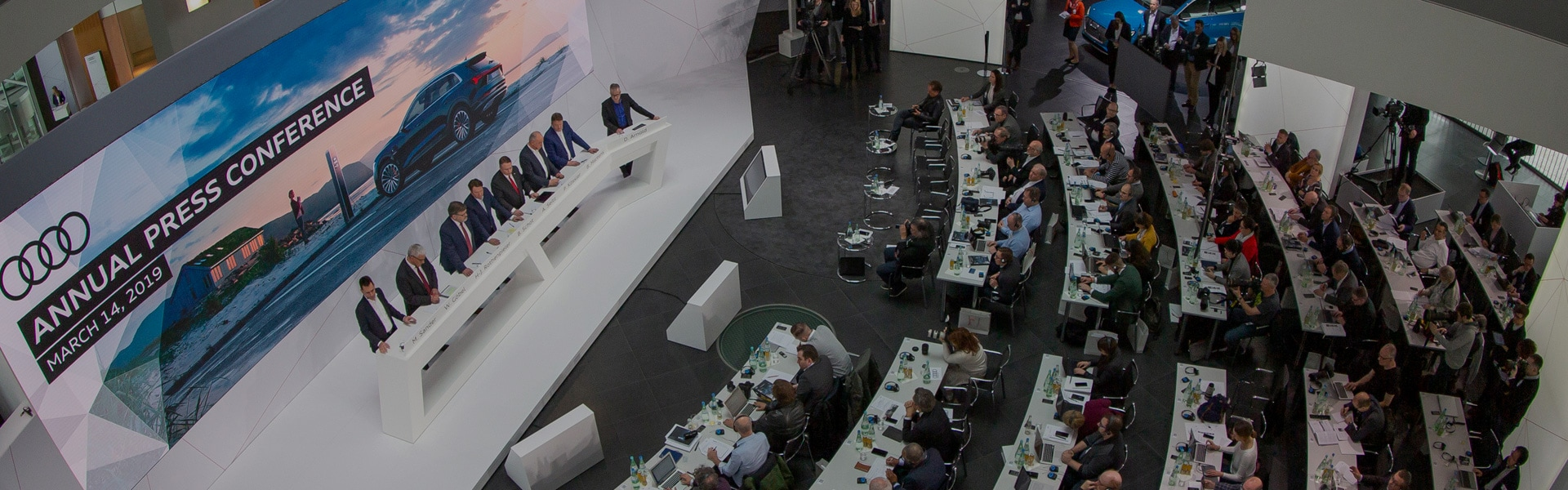The Audi Annual Press Conference in Ingolstadt on March 14, 2019