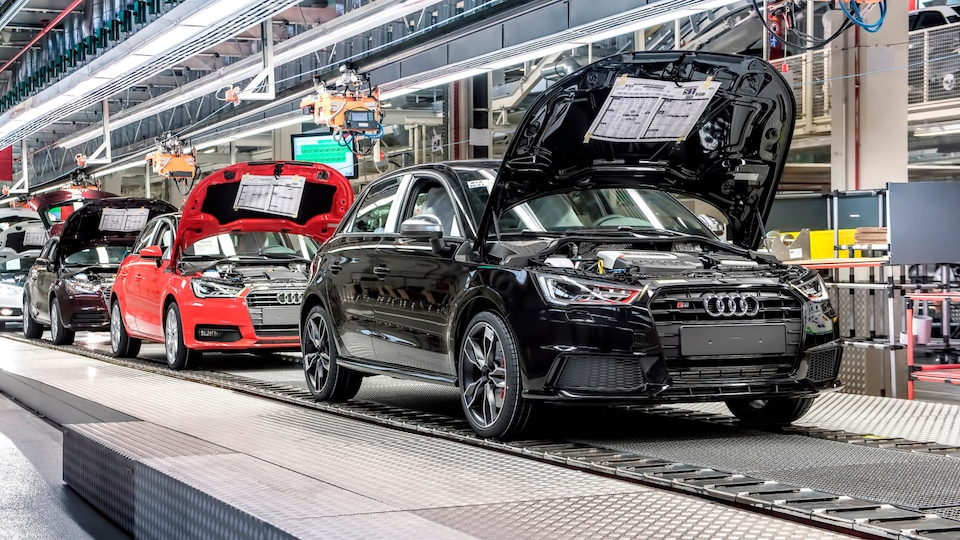 Production operations at the Audi plant in Brussels is completely CO₂-neutral.