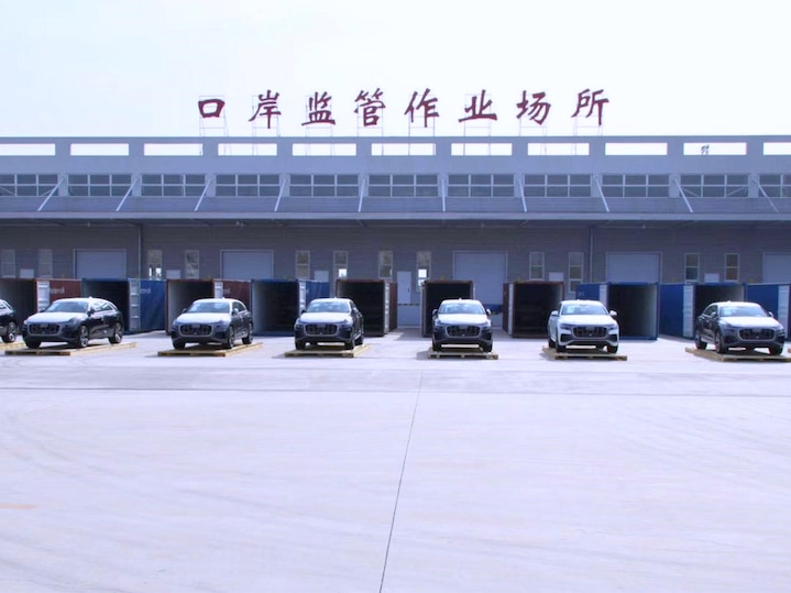 Transport of cars to China becomes more flexible