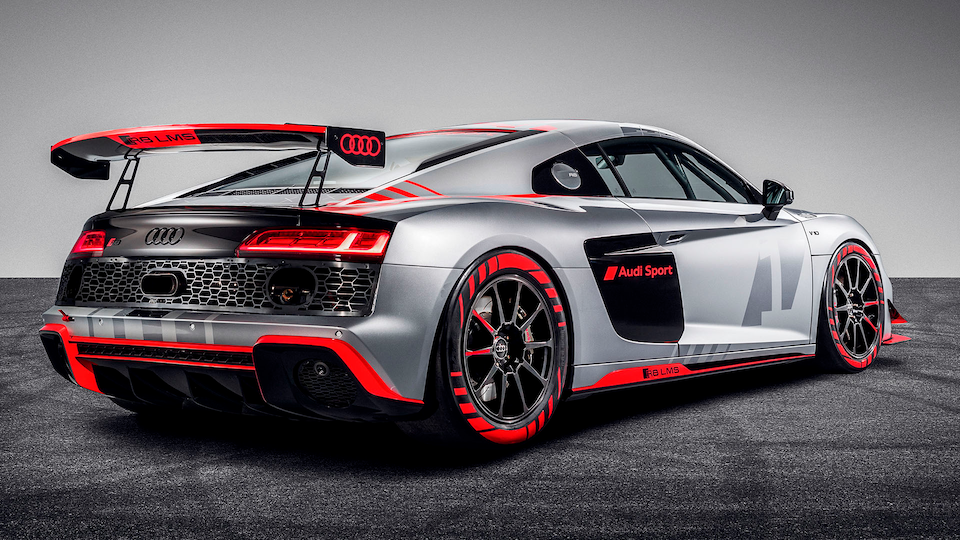 Rear of Audi R8 LMS GT4