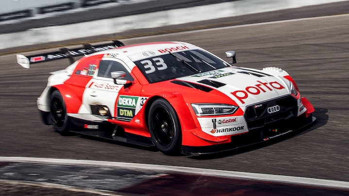 Front of the Audi RS 5 DTM