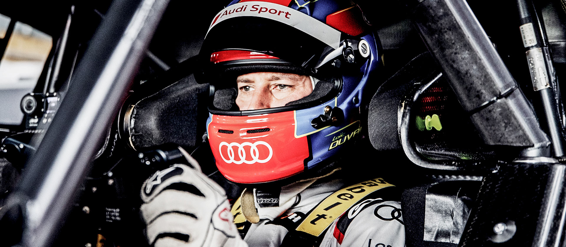 Loïc Duval in the Audi RS 5 DTM
