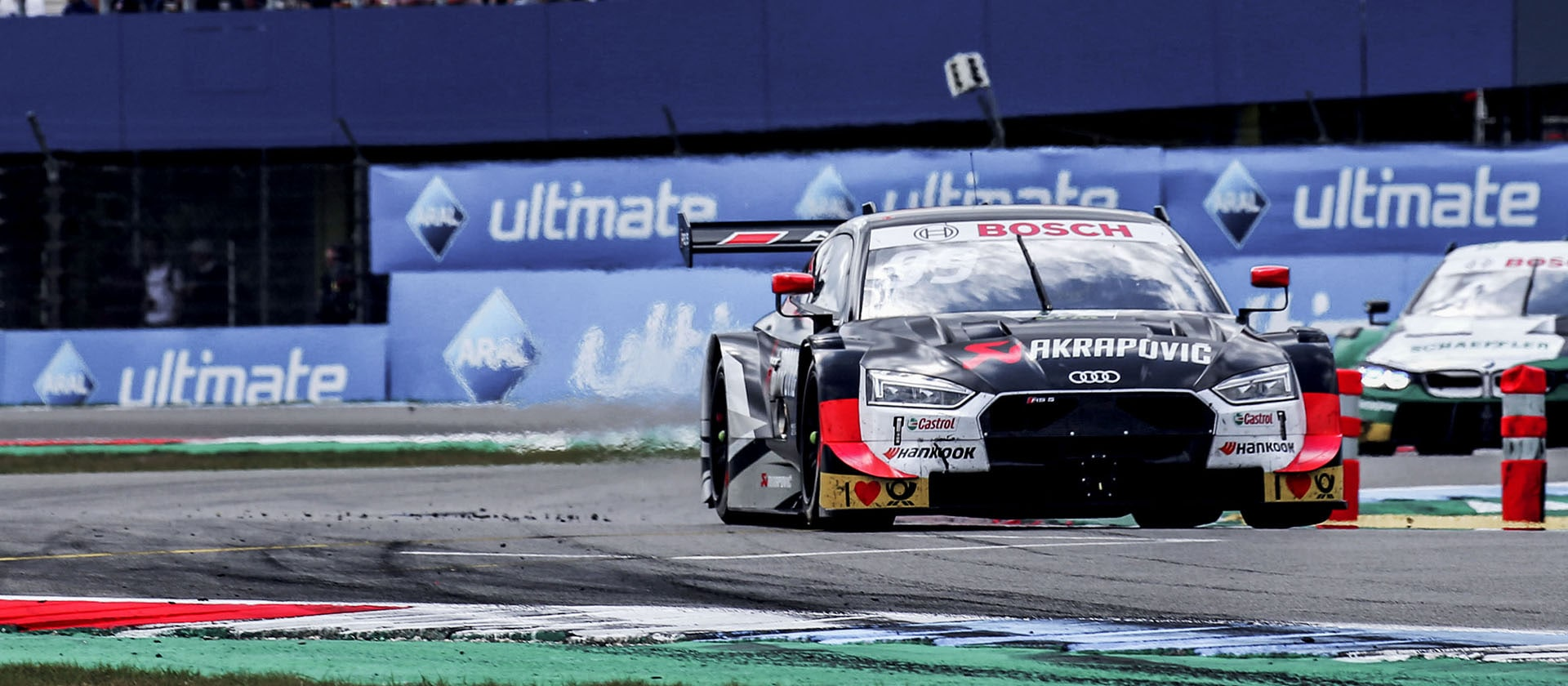 Mike Rockenfeller in the Audi RS 5 DTM