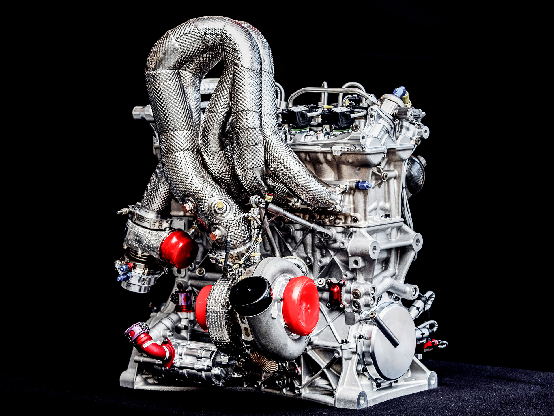 Engine of Audi RS 5 DTM