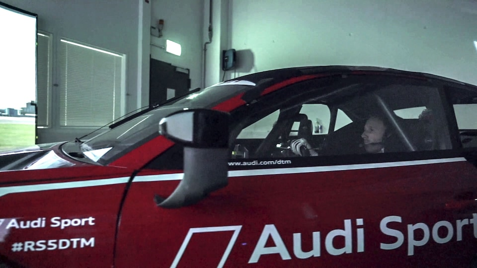 René Rast in the Audi RS 5 DTM