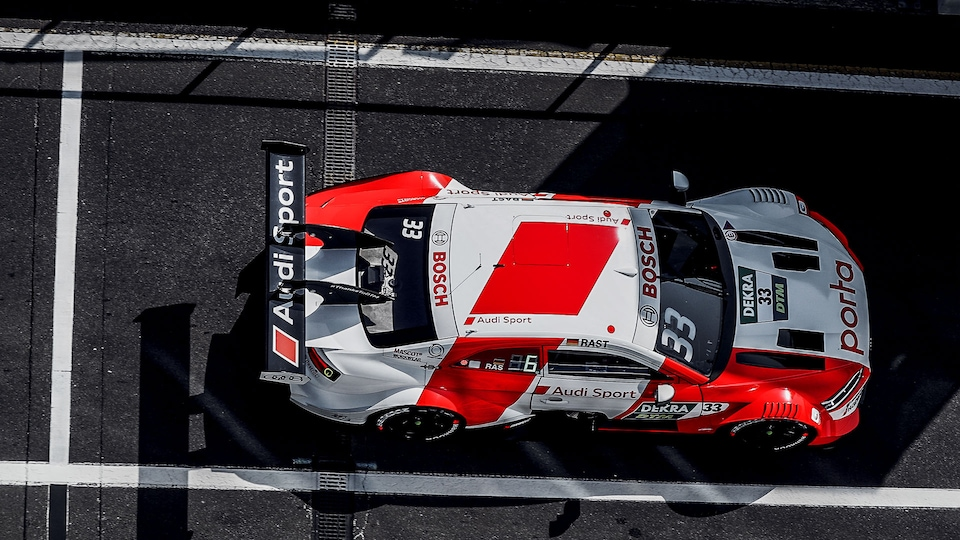 Audi RS 5 DTM in the pitlane