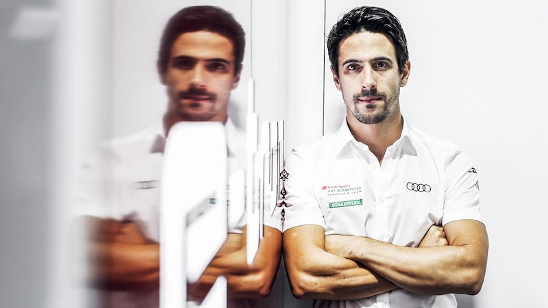 Lucas di Grassi in der Box