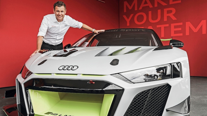 Tom Kristensen and the Audi R8 LMS GT2