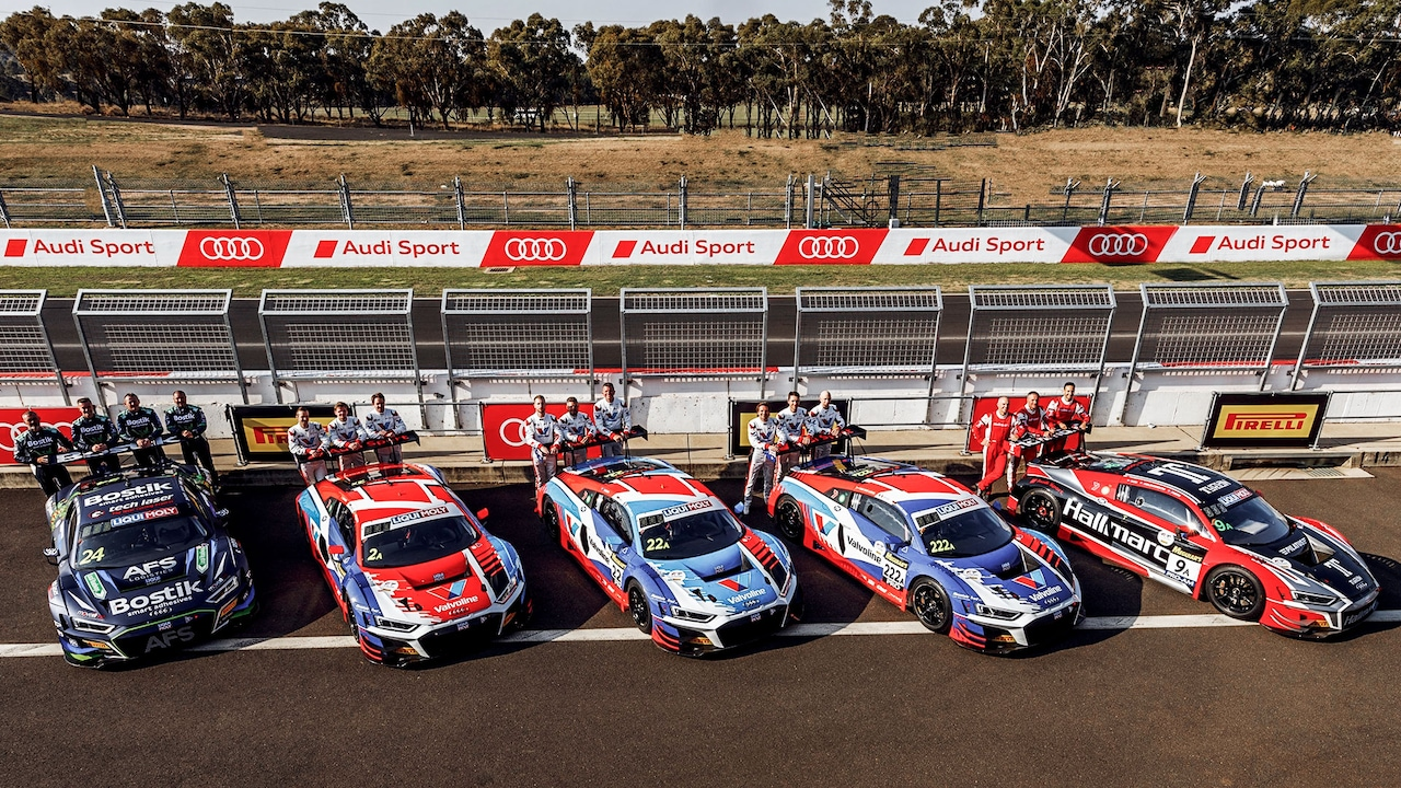 Audi Sport customer racing in Bathurst
