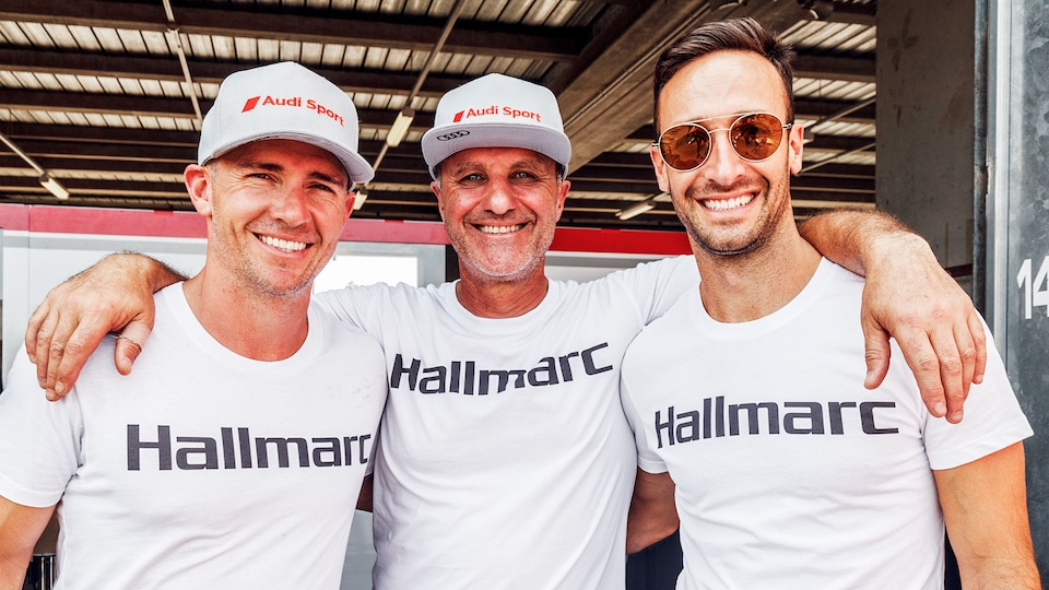 Lee Holdsworth, Marc Cini, Dean Fiore