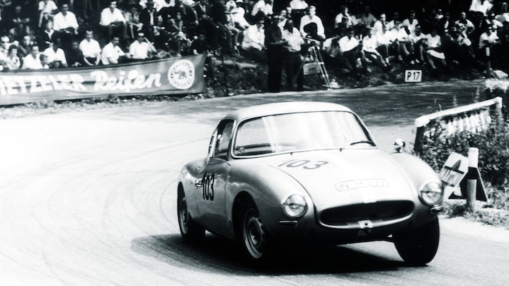 DKW on the racetrack