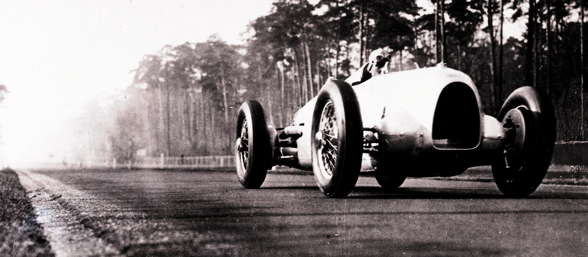 Auto Union on the racetrack