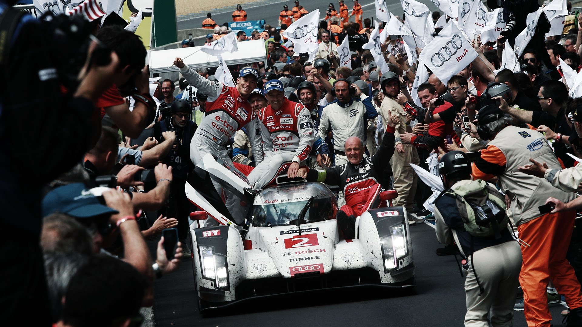 Historie. Historie. Audi Rennsport