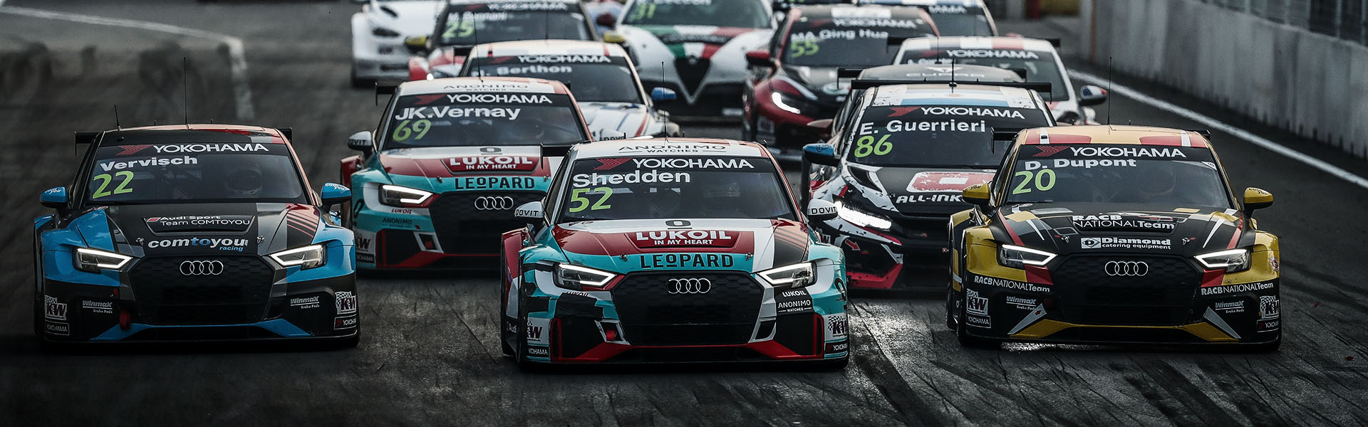 AUDI RACING IN YOUR COUNTRY