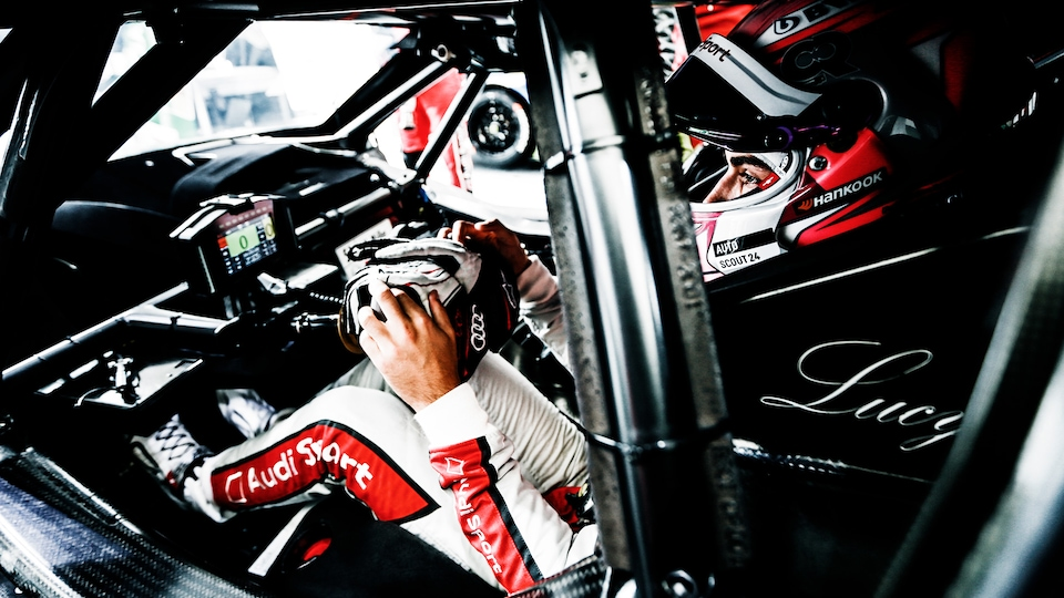 AUDI FACTORY DRIVER NICO MÜLLER EXPLAINS HOW TO BEST MANAGE A START IN THE AUDI RS 5 DTM: