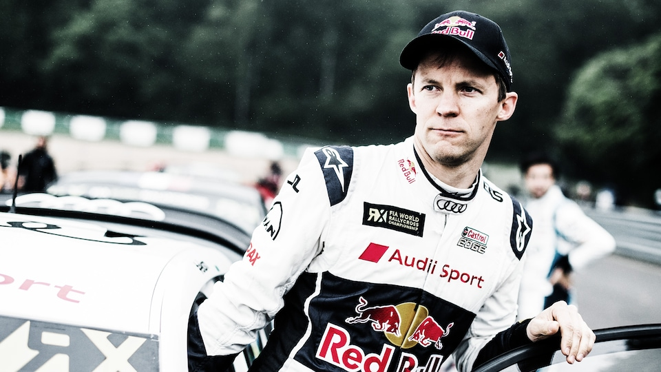 TEAM OWNER AND DRIVER MATTIAS EKSTRÖM FROM SWEDEN EXPLAINS THE STARTING PROCEDURE: