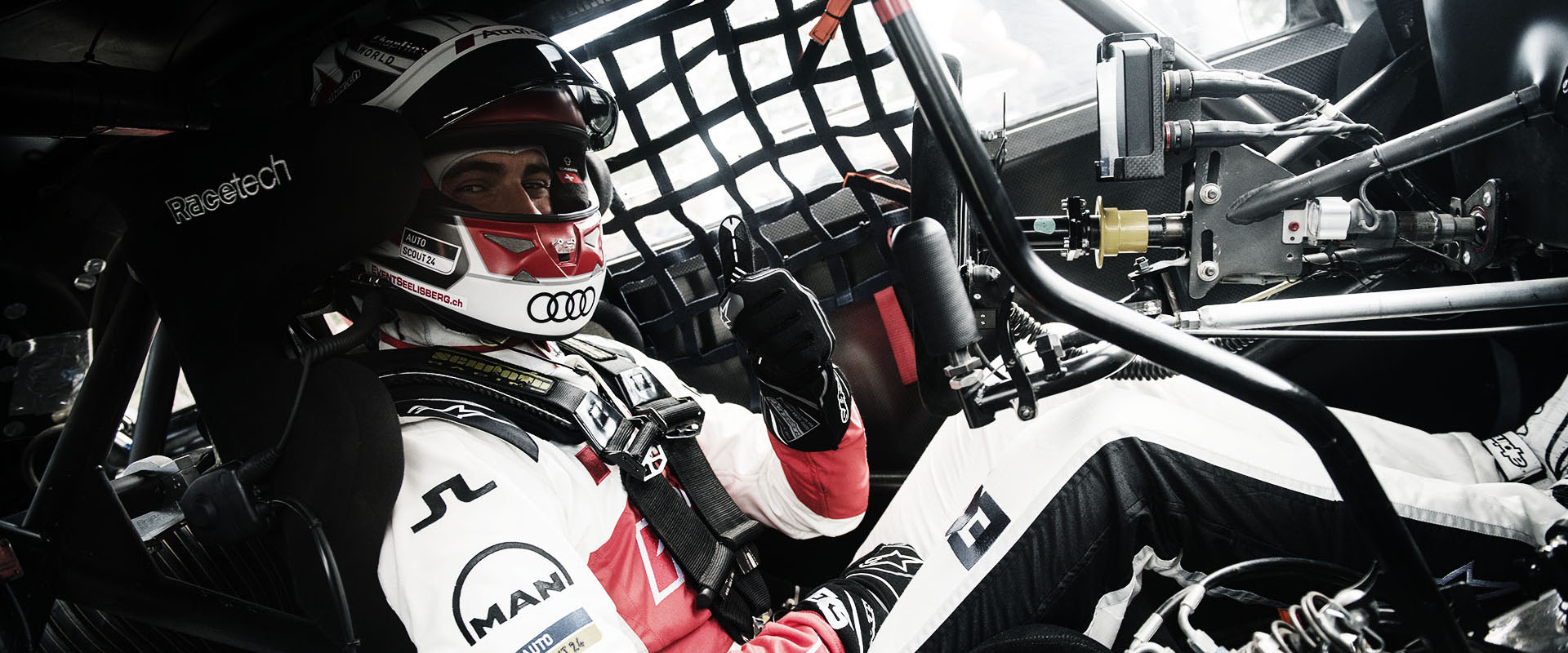 Nico Müller in the cockpit