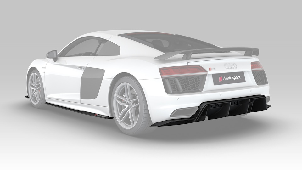 Available for Audi R8 Coupé (V10 plus, V10 and RWS) models constructed from 2016 onwards.