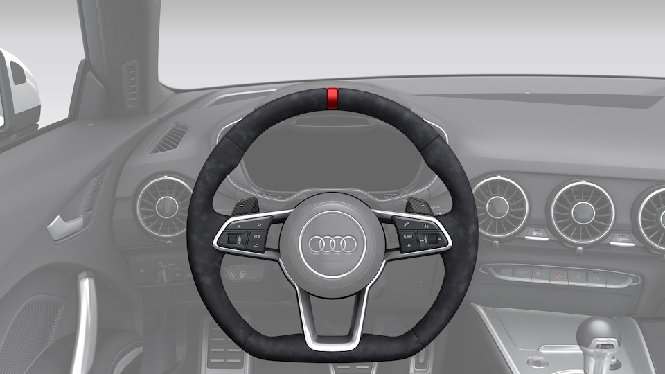 STEERING WHEEL AND SHIFT PADDLES