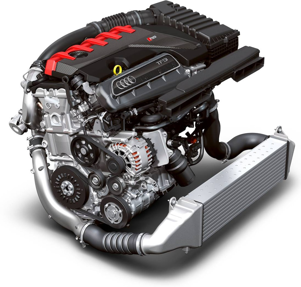 THE WORLD'S MOST POWERFUL 5-CYLINDER SERIES ENGINE