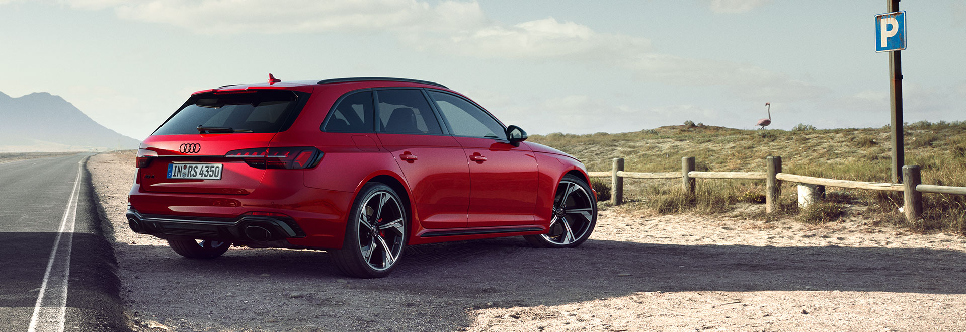 The RS 4 in your country