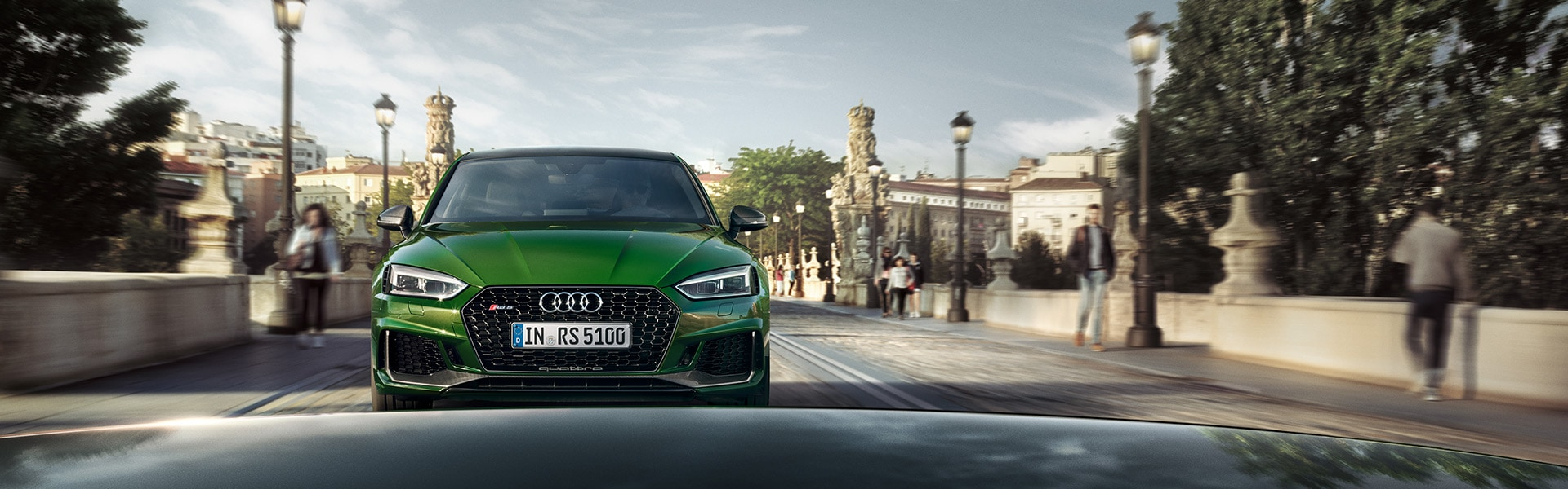 THE RS 5 IN YOUR COUNTRY