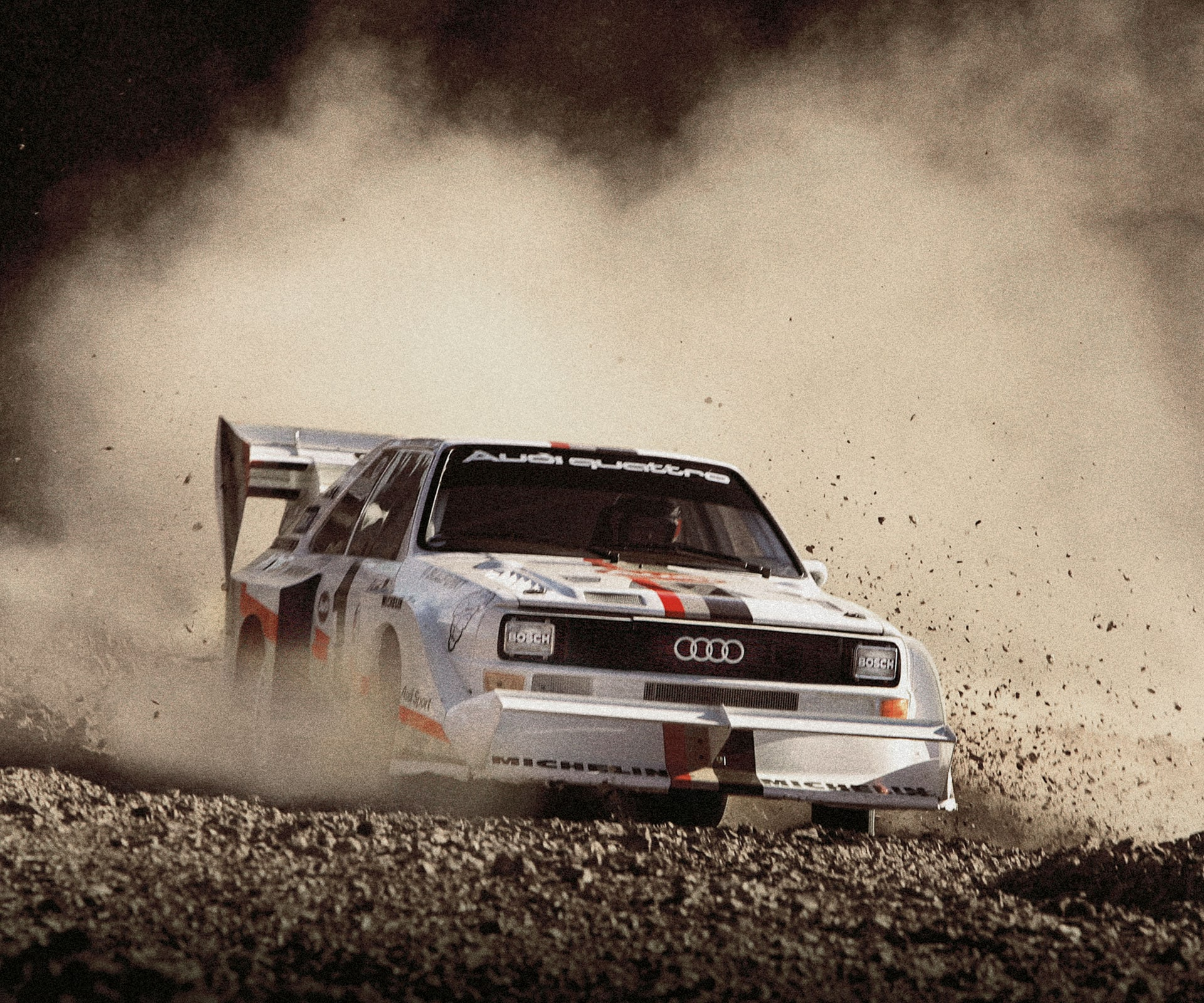 The original Audi quattro: Top performance right from the start.