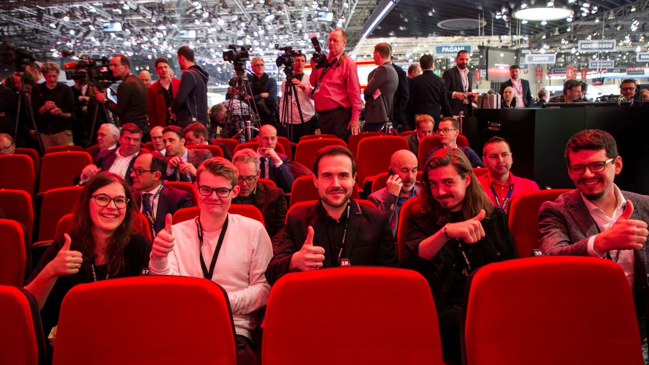 Audi film contest: the finalists wait for the results to be announced
