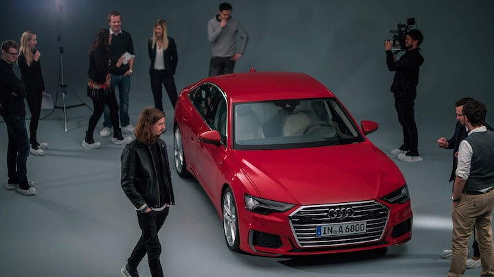 The Audi A6 Film Content: #RevealTheA6