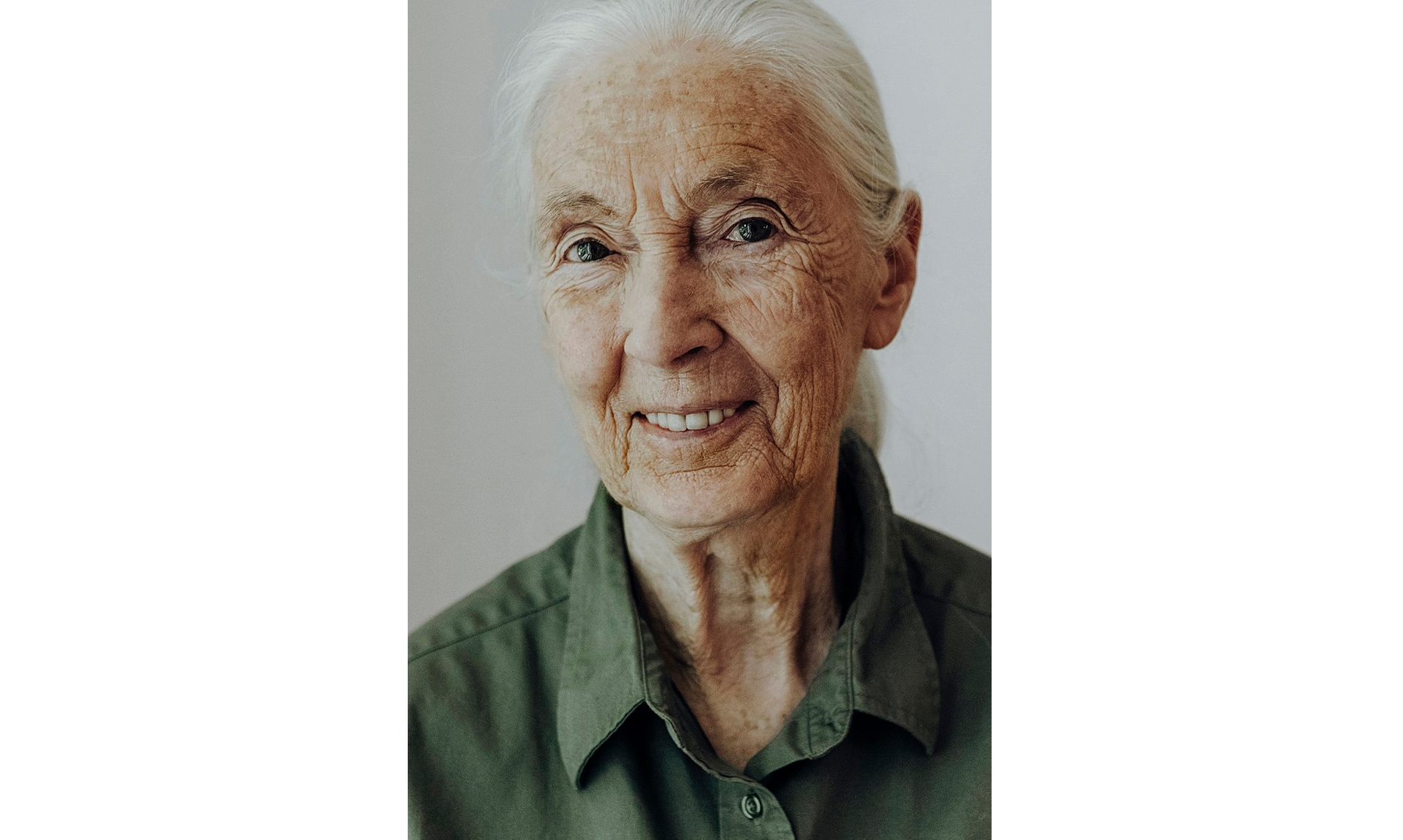 Dr. Jane Goodall was honored with the Lifetime Achievement Award.