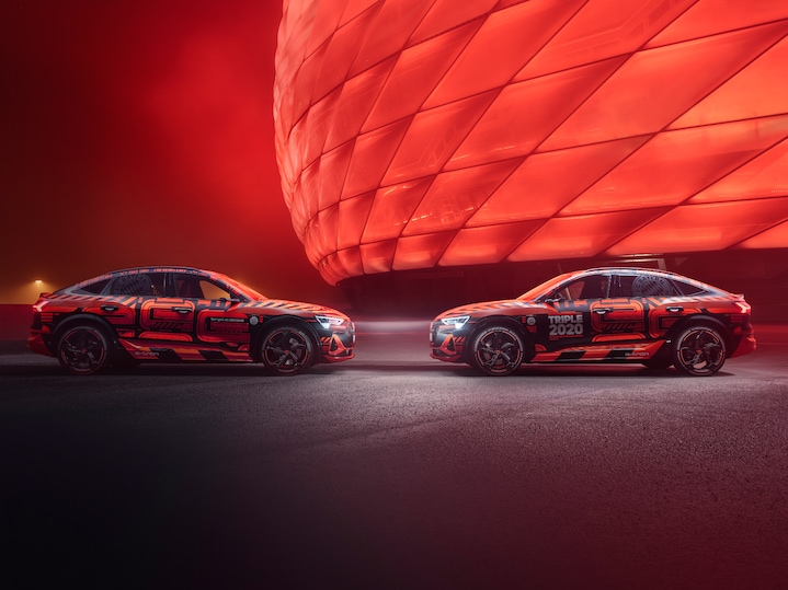 Focus on: the Audi e-tron Triple 2020