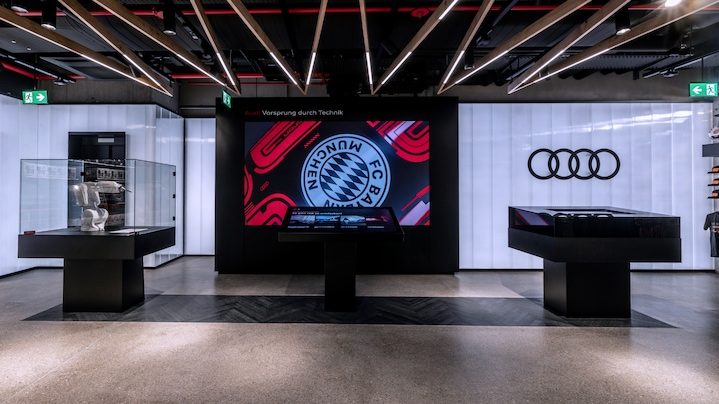 Audi @ FCB World – one partnership, one experience