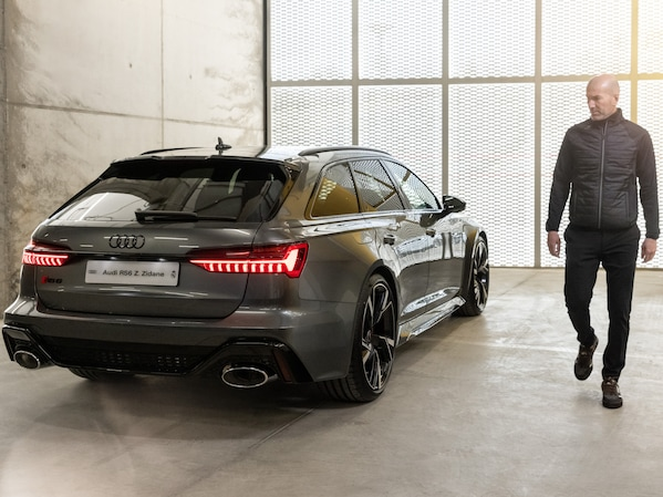 New Audi cars for the team of Real Madrid C.F.