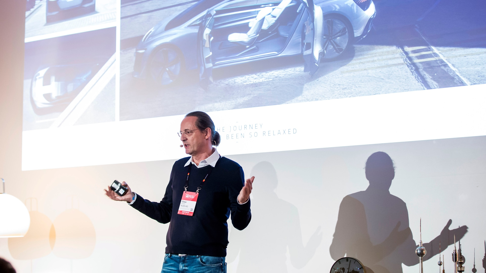 Thinking the car of the future along usecases: Claus Potthoff, Head of Design Strategy at Audi.