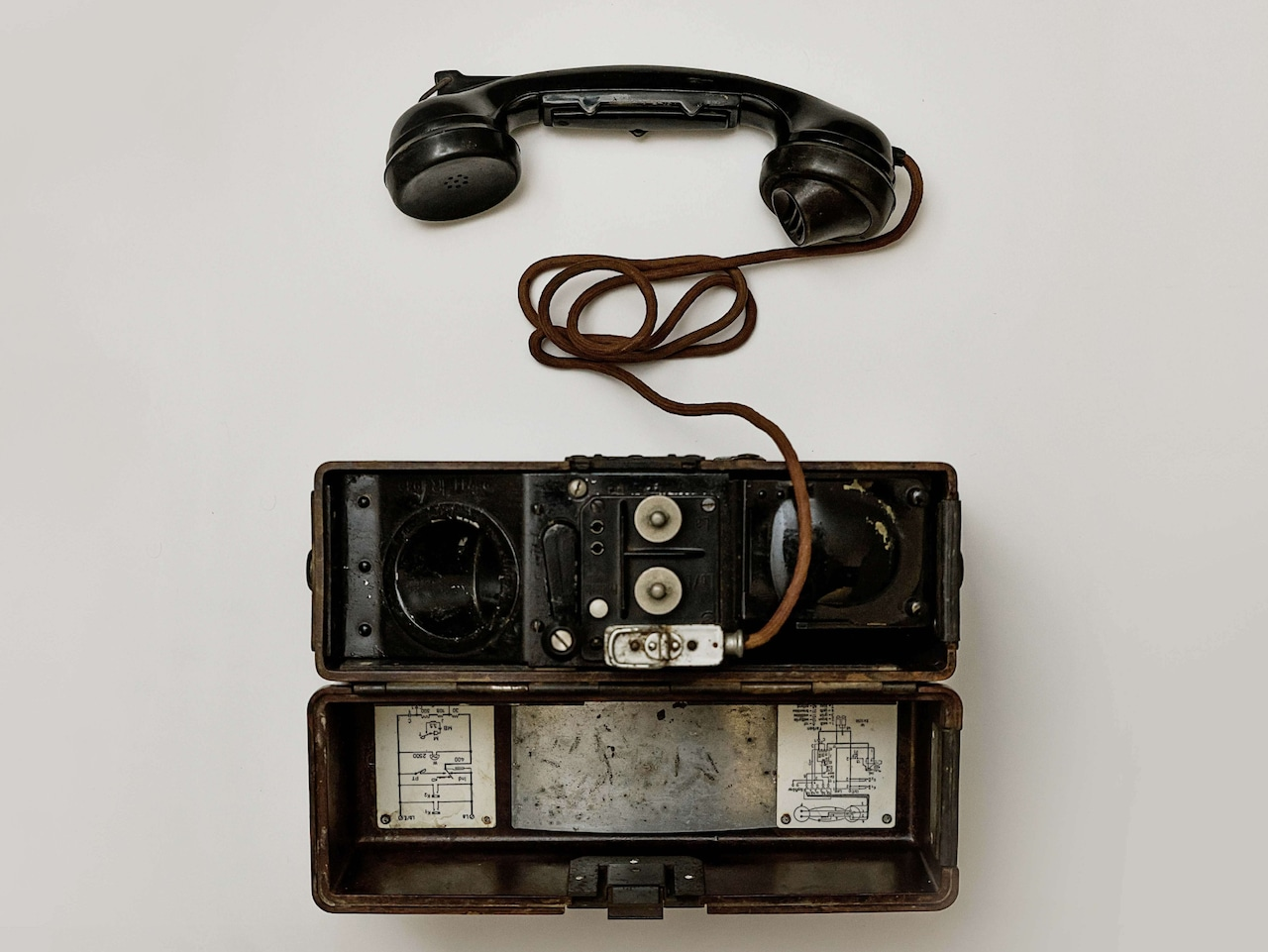 An oldtimer in communication technology: the cable phone. During the 19th century it took decades for a quarter of the US households to own a telephone – the smartphone needed less than five years to achieve the same numbers.