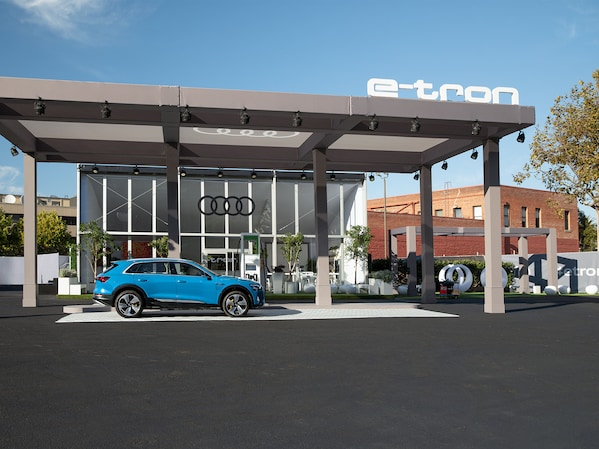 How Audi is bringing the e-tron to downtown San Francisco