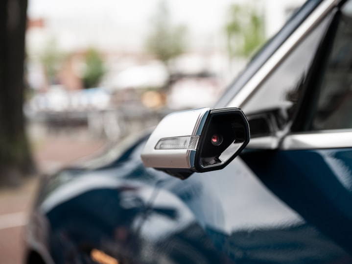 Aside from the charging power, the Audi e-tron's exceptional features include virtual side mirrors.