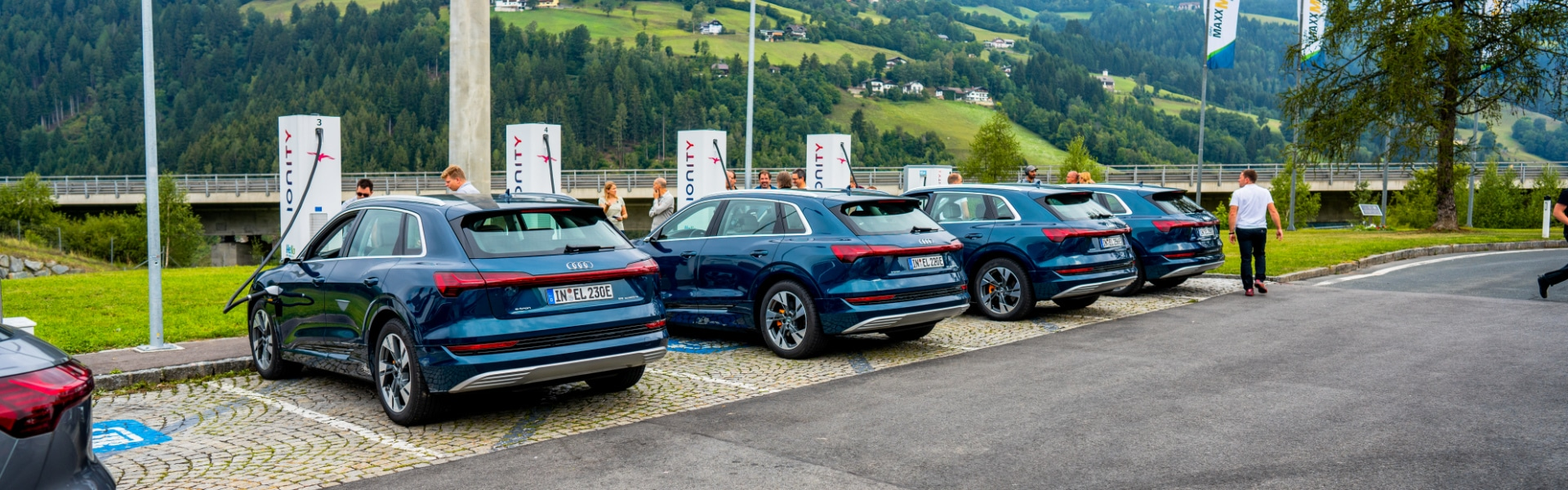 The e-tron extreme tour through Europe in numbers: